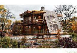 Деревянные финские дома фахверк и клееный брус