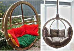 Эксклюзивные и уютные подвесные кресла в фирме «Lounge Wood»