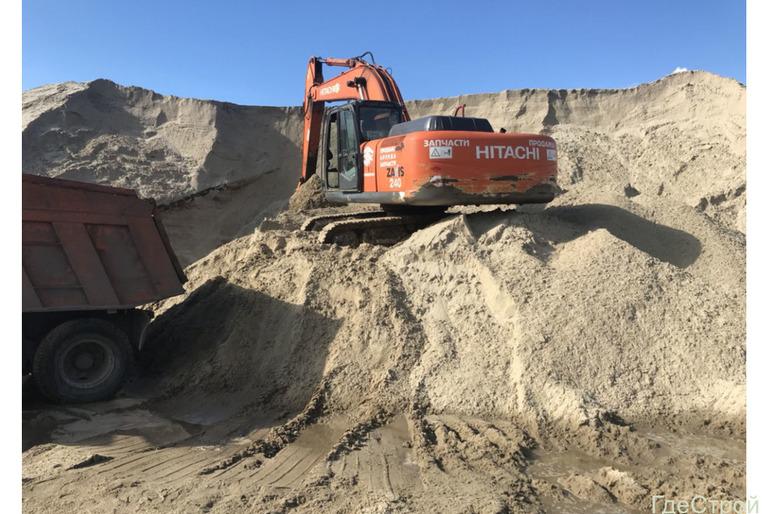 Песок, щебень, грунт