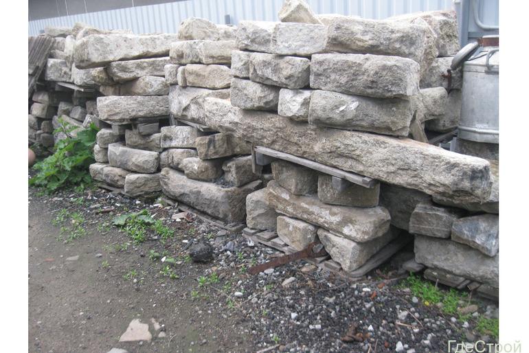 эксклюзивный фасадный камень 18 век гранит (миасскит)